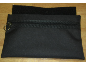 Single pocket under chair bag. Attached under the cushion with Velcro.