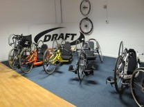 Draft Wheelchair Showroom Racing Handcycles