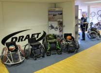 Draft Wheelchairs Showroom Sports Chairs